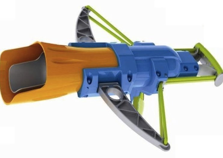Aqua Force water balloon blasters come with 80ft target range