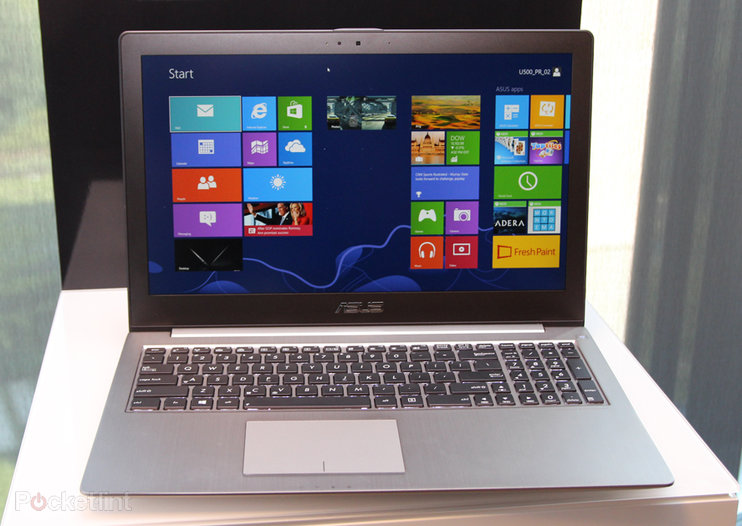 Asus ZenBook U500 pictures and hands-on