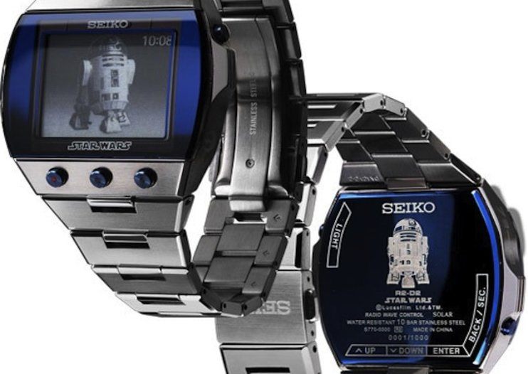 Seiko shows off Star Wars limited edition watches