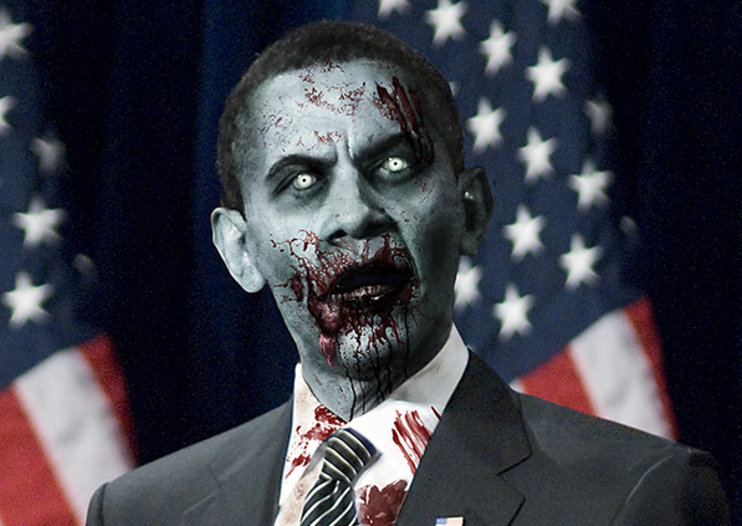 President Evil: US candidates made over Resident Evil 6 style