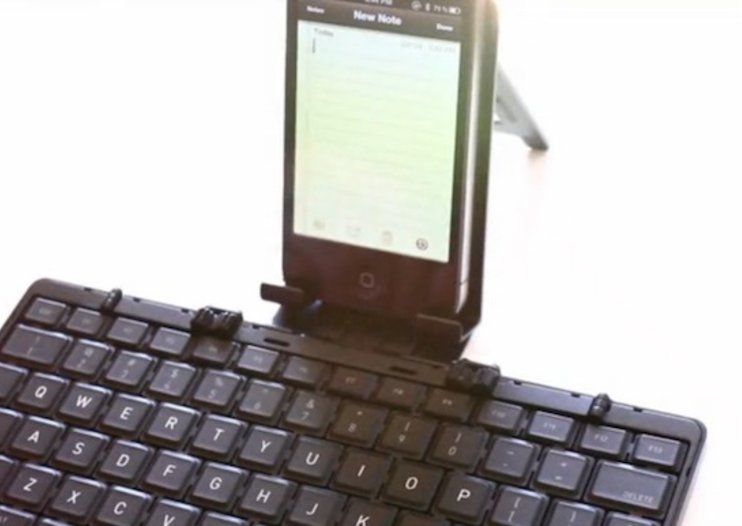 Foldable Bluetooth keyboard that can fit in your pocket looks for Kickstarter funding
