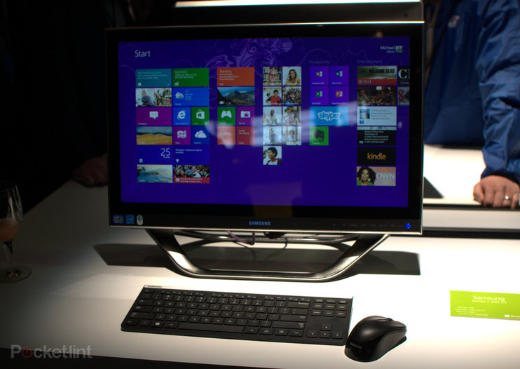 Samsung Series 7 AIO 23 pictures and hands-on