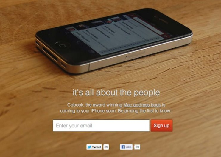 Cobook smart address book app coming to the iPhone