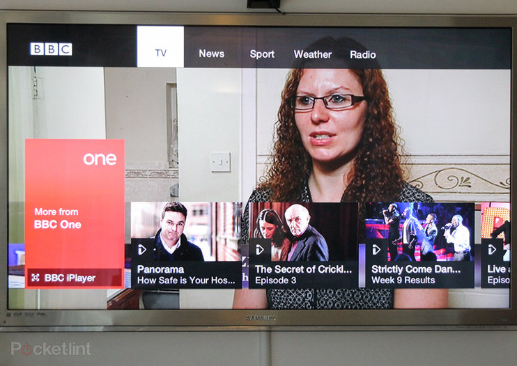 New BBC connected red button pictures and hands-on: Virgin Media TiVo first, then YouView in 2013