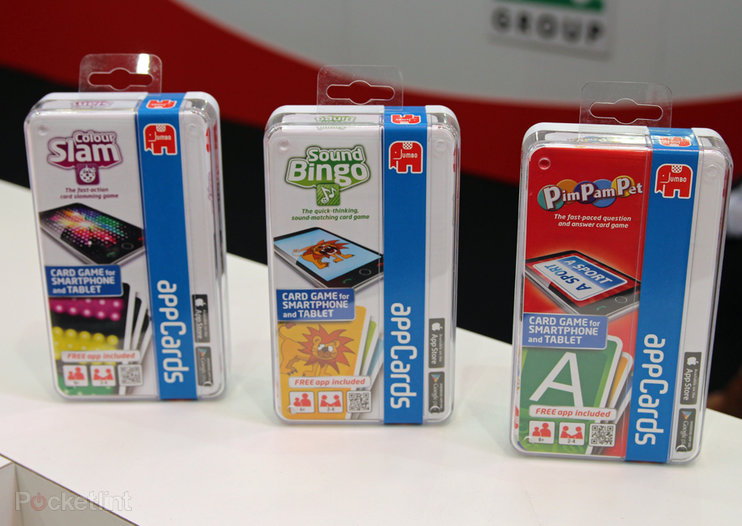 Jumbo appCards bring interactive card games to your iPad or Android tablet