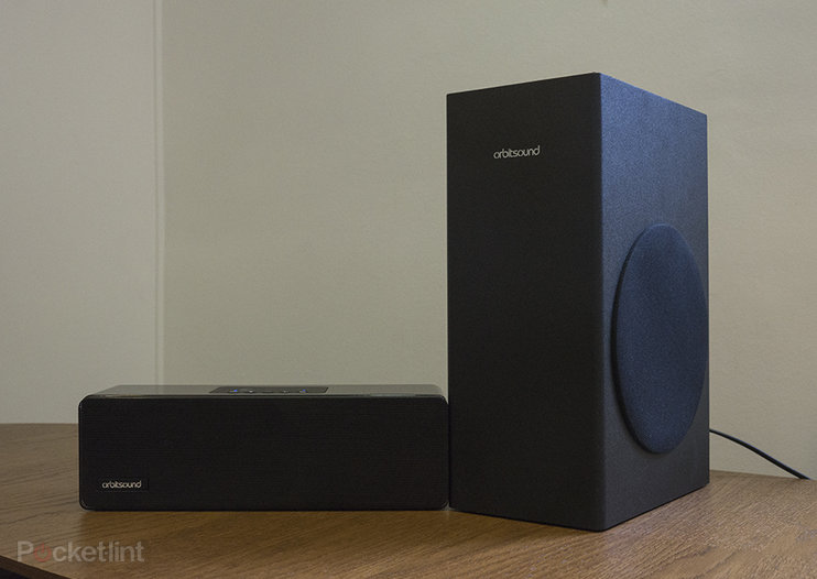 Orbitsound M9 wireless soundbar pictures and hands-on
