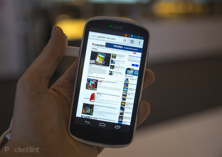 Acer Liquid E1 pictures and hands-on