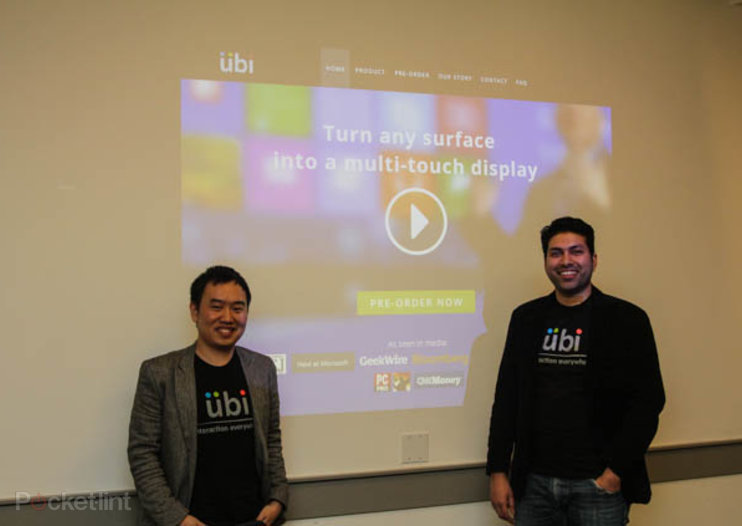 Ubi: The new Windows 8 Kinect app turns any surface touchscreen
