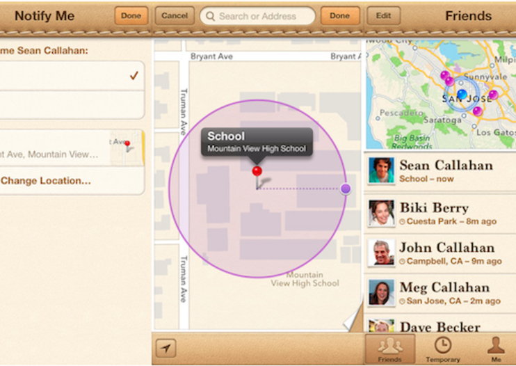 Apple adds revamped location alerts to Find My Friends for advanced stalking