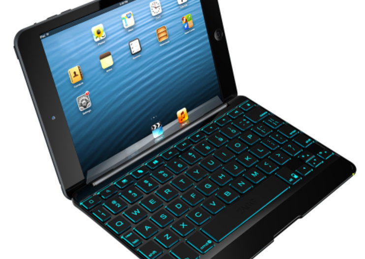 ZAGG unveils Cover and Folio backlit keyboards for iPad mini