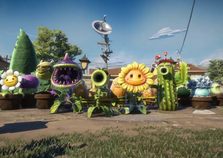 Plants Vs Zombies Garden Warfare: third-person shooter coming to Xbox One and 360