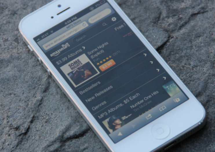 Amazon's MP3 store in UK now optimised for iPhone and iPod touch