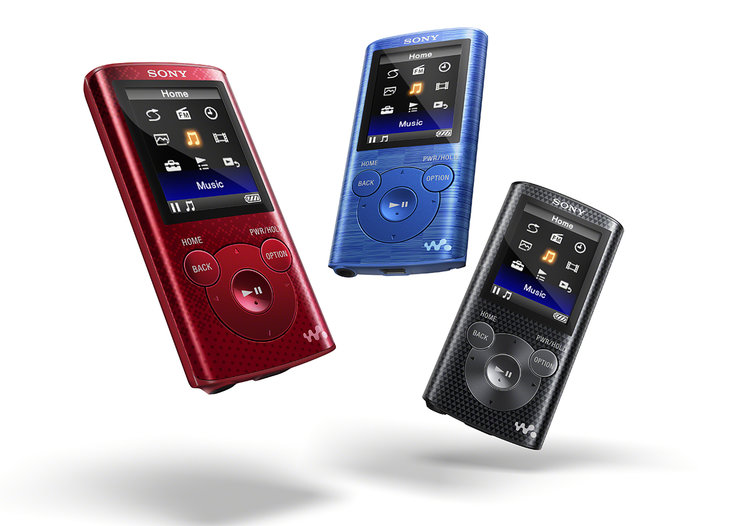 Sony E series Walkman video players offer up to 77 hours battery life