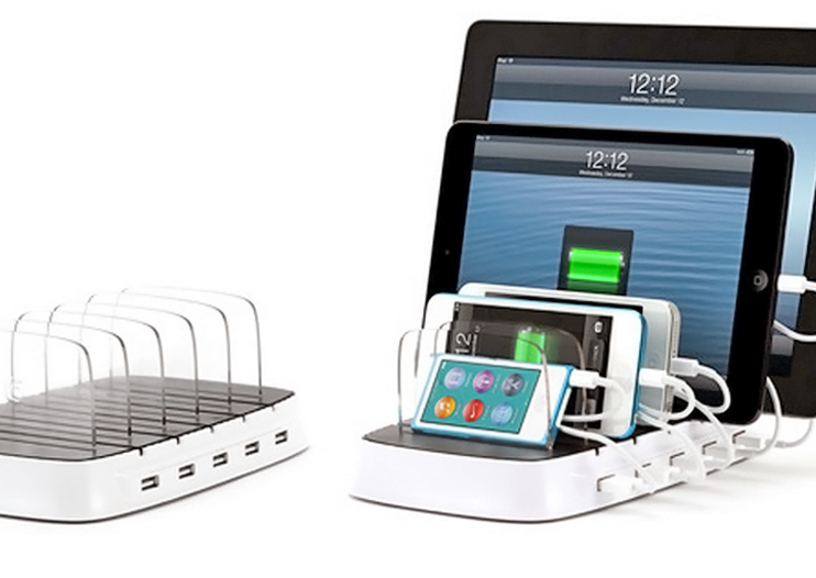 Griffin launches PowerDock 5, stores and charges up to five iOS devices at once
