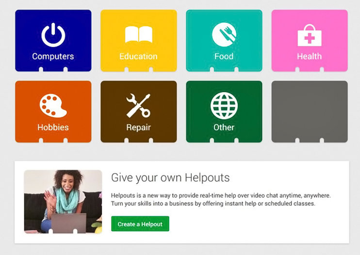Google reportedly tests Helpouts, an e-commerce platform with Hangout-like video