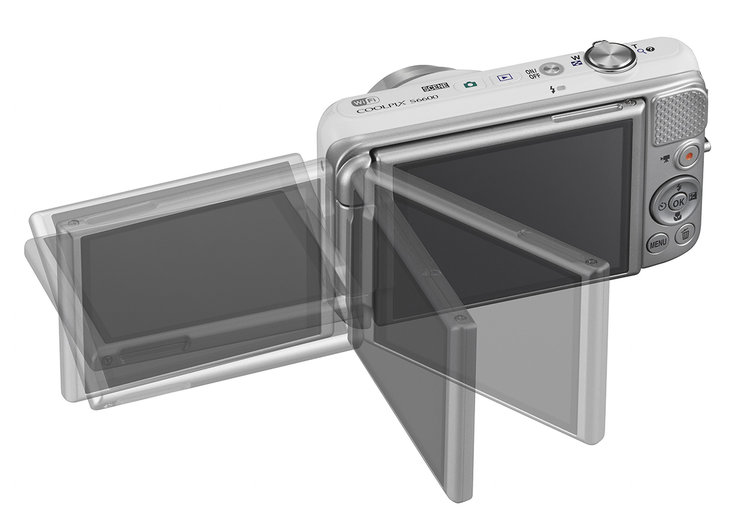 Nikon Coolpix S6600 comes with vari-angle LCD screen, Wi-Fi and 12x zoom
