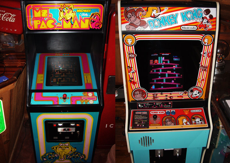 All You Can Arcade: Rent vintage arcade cabinets for just $75 - home delivery included