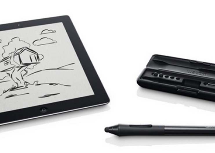 Wacom Intuos Creative Stylus offers 2048 pressure level accuracy to the iPad