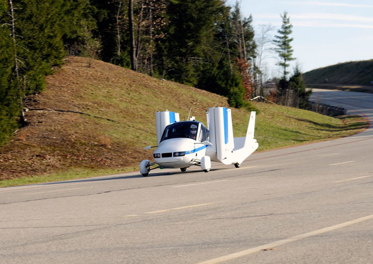 Terrafugia Transition flying car takes to the skies