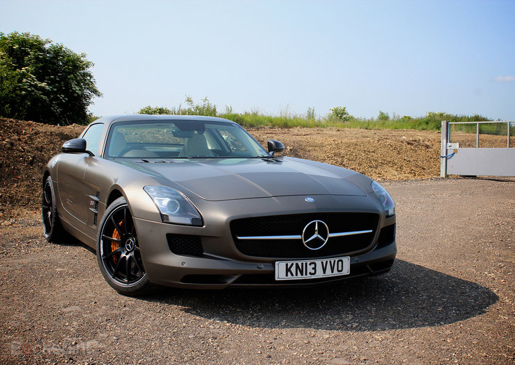 Mercedes-Benz SLS AMG GT Coupe pictures and hands-on