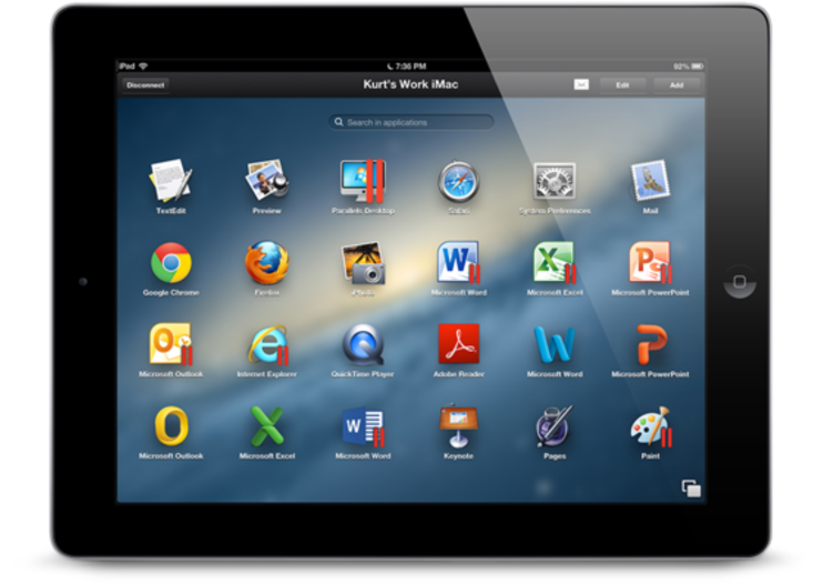 Parallels Access for iPad arrives, letting your PC and Mac apps run like iOS apps