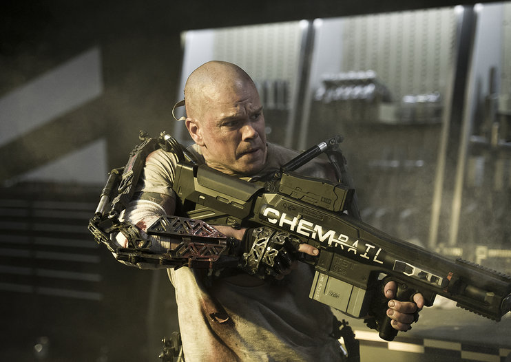 Win: A Sony Tablet Z courtesy of Elysium, in cinemas now!