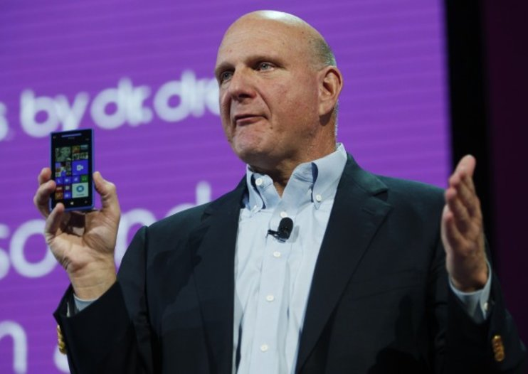 Microsoft's Steve Ballmer prefers shorter names, mocks 'Nokia Lumia Windows Phone 1020'