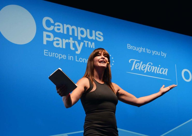 Suzi Perry calls for schools to encourage girl geeks as Campus Party gears for Women in Tech Day