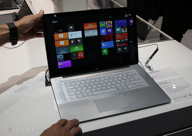 Sony Vaio Fit multi-flip PC makes IFA debut: We go hands-on with the laptop-meets-tablet