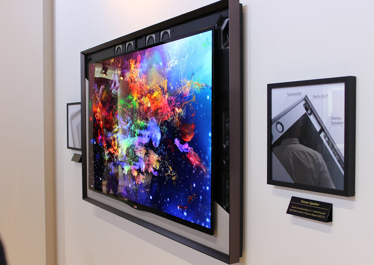 LG 55-inch Gallery OLED TV eyes-on in the classy corner of IFA