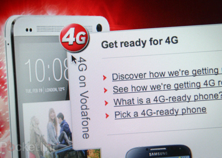 Vodafone to offer 4GB of extra data per month to 4G customers with new 4GBonus
