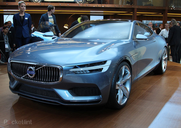 Volvo Concept Coupe hands-on, the new face of Sweden's finest