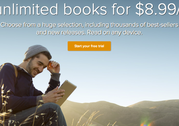 Scribd launches e-book subscription service, unlimited books for $8.99/month