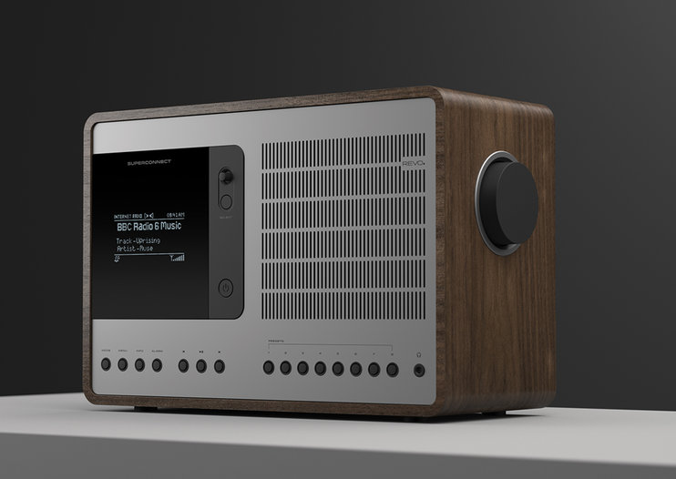 Revo SuperConnect hybrid radio offers multiple ways to enjoy your music, including Spotify Connect