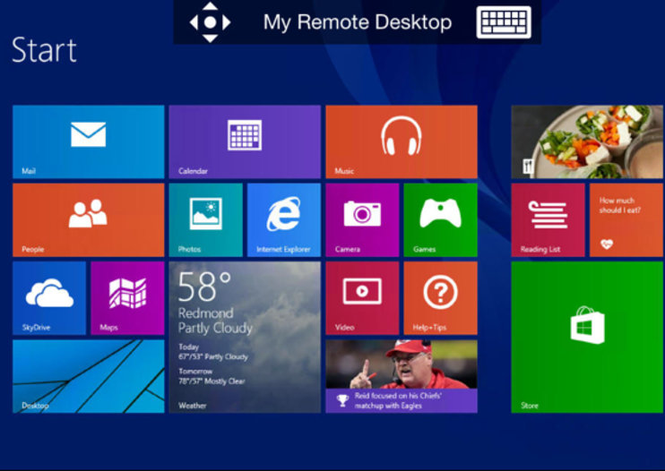 Microsoft's Remote Desktop app launches for PC access on iOS