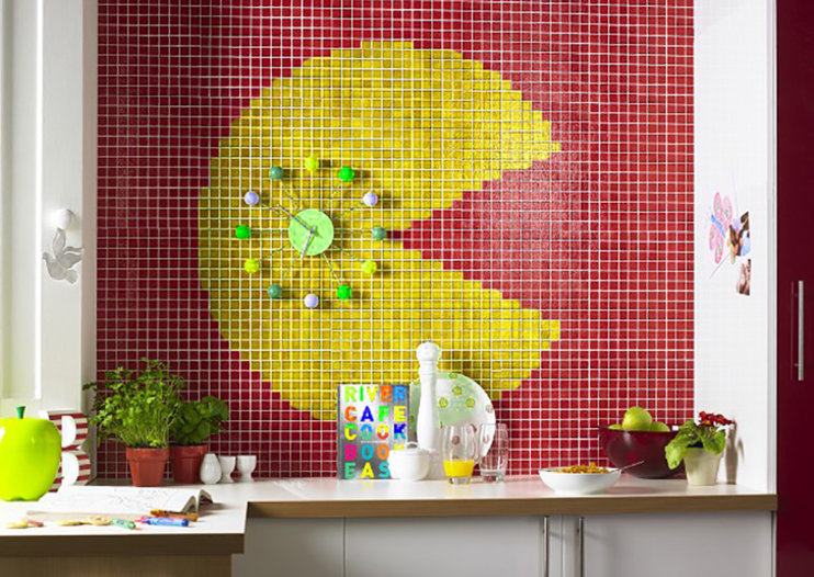 Topps Tiles celebrates gaming milestones with super-cool retro 8-bit bathroom designs
