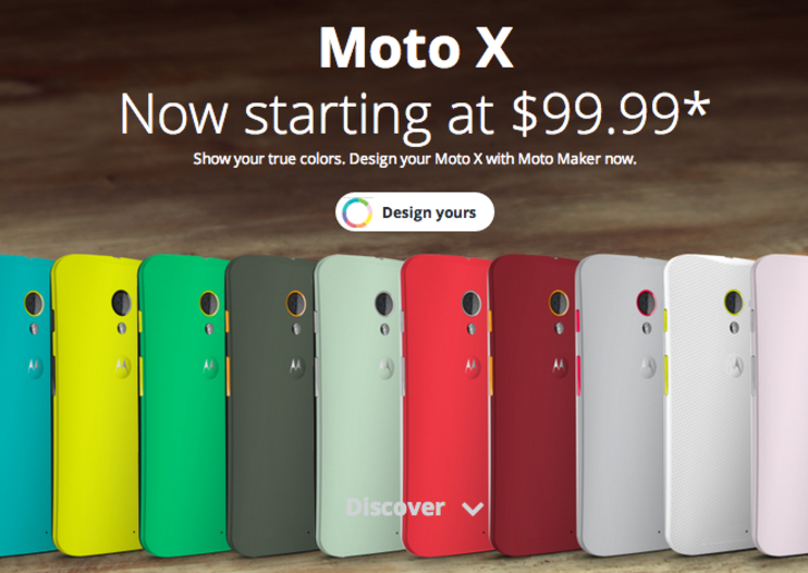 Motorola Moto X price halved to $100 at US carriers AT&T, Sprint and US Cellular