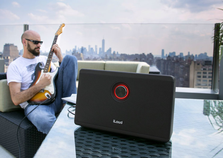 IK Multimedia announces iLoud, an iOS portable speaker for musicians
