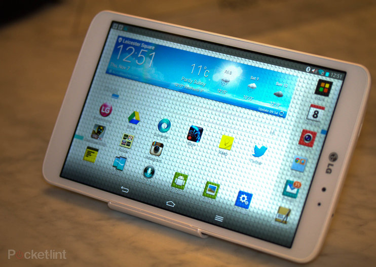 LG G Pad 8.3: Hands-on pictures with the Nexus 7 challenger