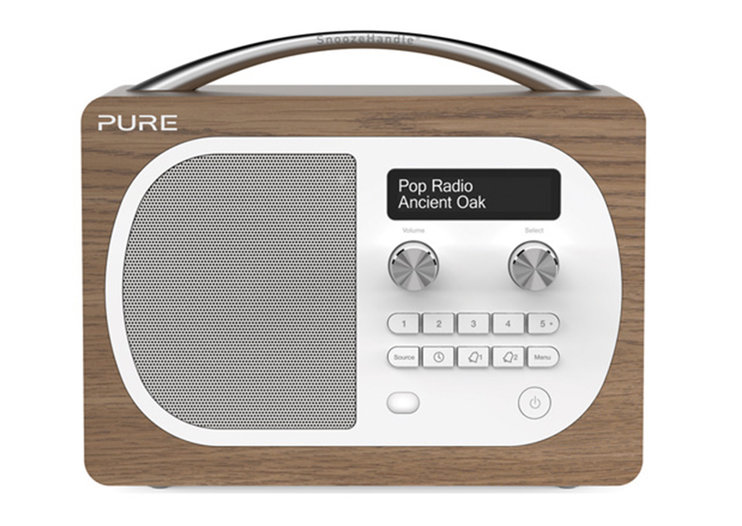Pure Evoke D4 and Evoke D4 with Bluetooth DAB and FM radios announced