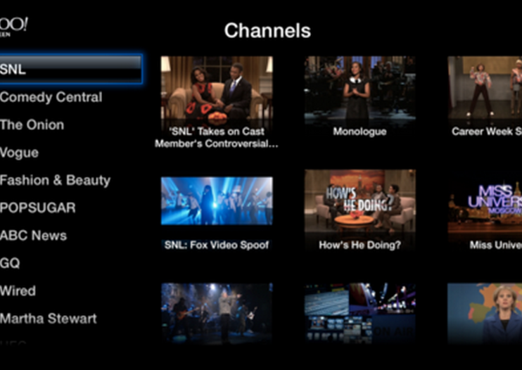 Apple TV adds Yahoo Screen and PBS apps, bringing shows like SNL and Antiques Roadshow