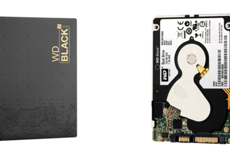 Western Digital 'Black2' drive combines 120GB SSD and 1TB spinning disk into one