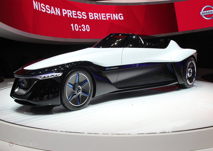 Nissan BladeGlider pictures and hands-on