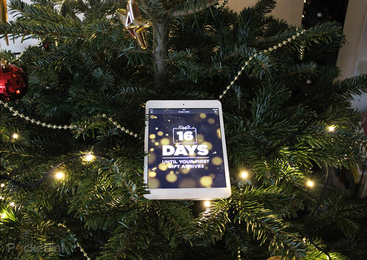Apple's 12 Days of Christmas app is ready to download