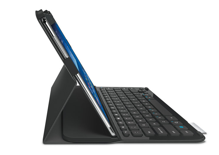 Logitech Pro keyboard cover announced to complement Samsung Galaxy NotePro and Galaxy TabPro tablets