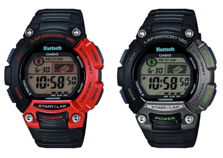 Casio G-Shock STB-100 sports watch displays sports app data and controls music with 2-year battery life