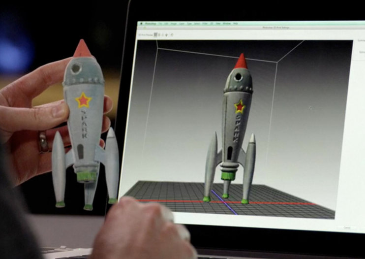 Adobe adds easy 3D printing to Photoshop CC