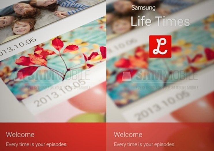 Leaked screenshots of Samsung's Life Times app reveal logging features for photos and messages