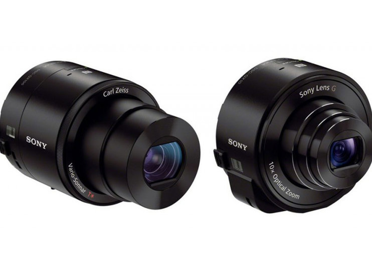 Sony updates QX10 and QX100 lens cameras with higher ISO and 1080p video