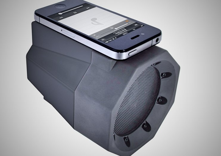 Wireless BoomBox speaker for smartphones delivers amplifed sound with a single touch for £25